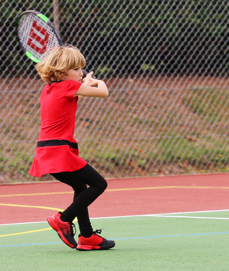 red tennis clothes junior tennis apparel wilson blade team 25 junior tennis racket zoe alexander girls