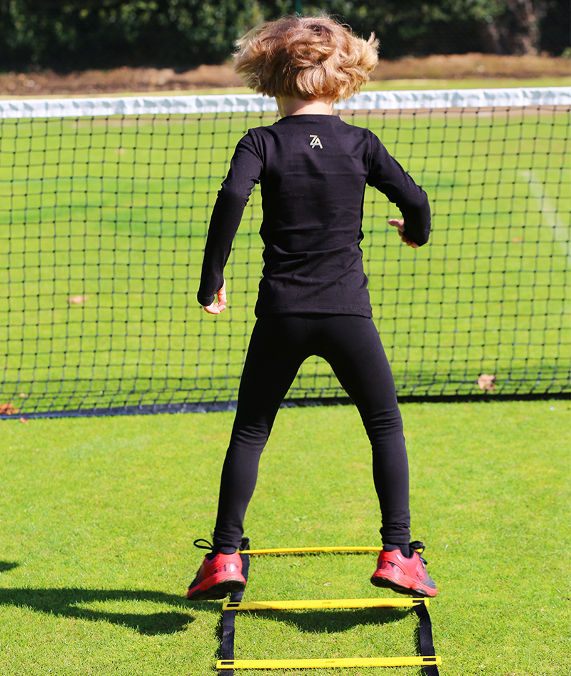 junior tennis apparel girls training tops and leggings by zoe alexander