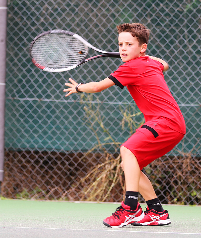 red tennis clothes for boys zoe alexander