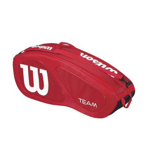 wilson 6 pack tennis racket bags from zoe alexander