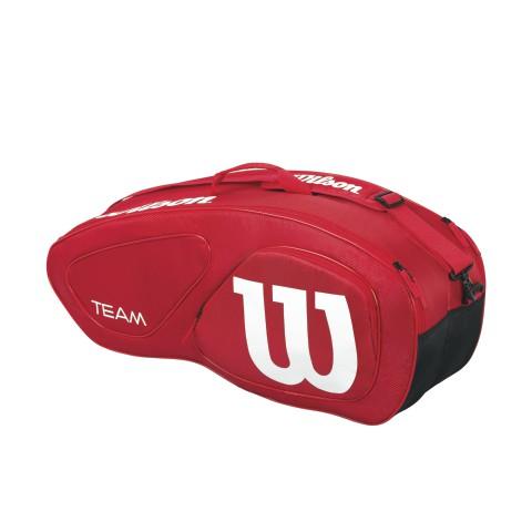 wilson tennis racket bag 6 pack zoe alexander uk