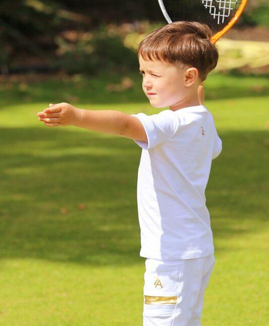 wimbledon white boys tennis outfit zoe alexander