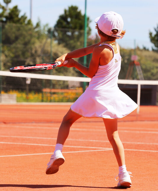 wimbledon white tennis clothes girls tennis dress with roger federer junior wilson tennis rackets zoe alexander