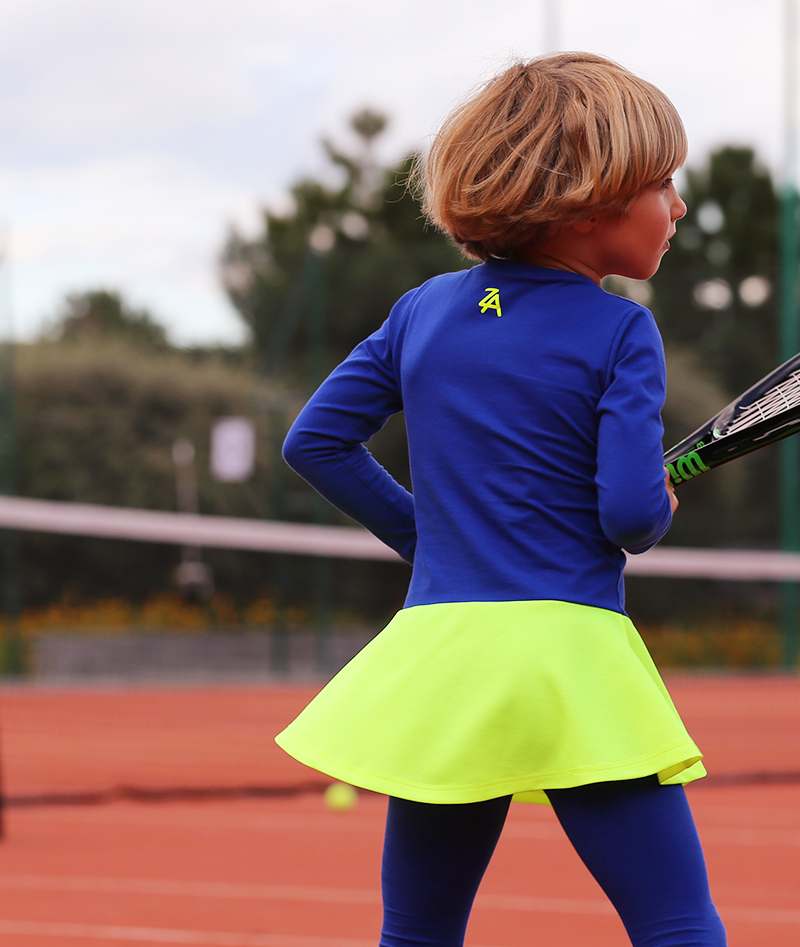 winter tennis dresses junior tennis apparel zoe alexander daria neon dress