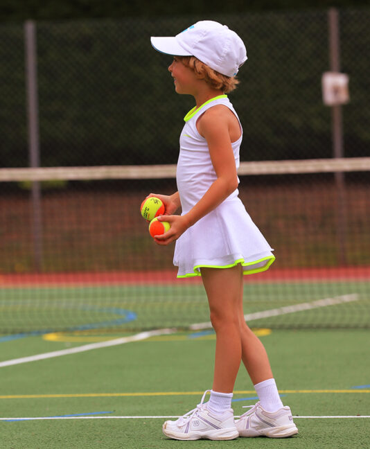 white tennis dress for girls zoe alexander