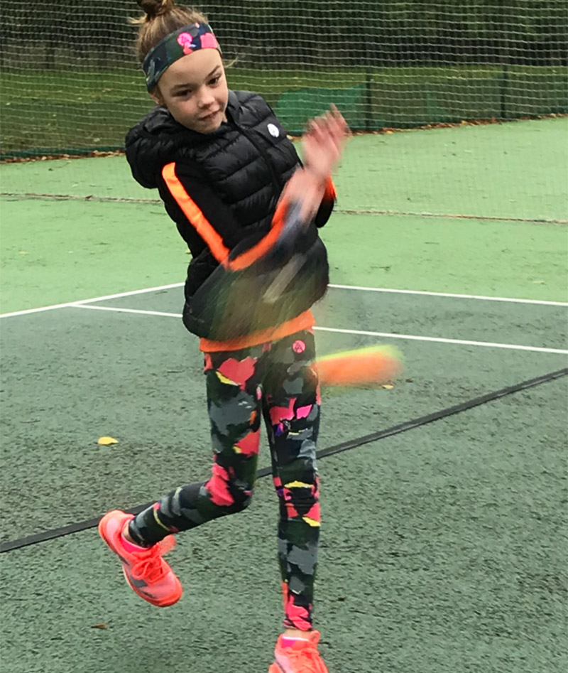 TENNIS PUFFA JACKET LEGGINGS GIRLS ZOE ALEXANDER UK ZA