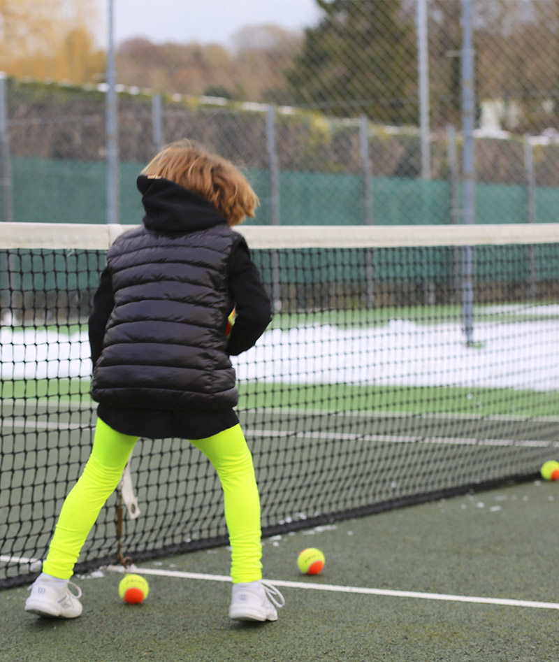 PUFFA JACKETT ZOE ALEXANDER UK TENNIS GIRLS
