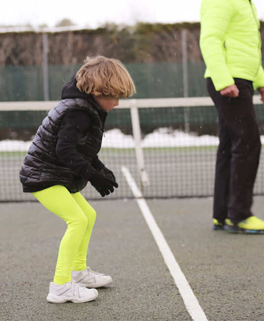 neon tennis leggings ZOE ALEXANDER UK ZA WINTER