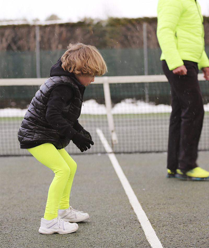 neon tennis leggings ZOE ALEXANDER UK ZA WINTER