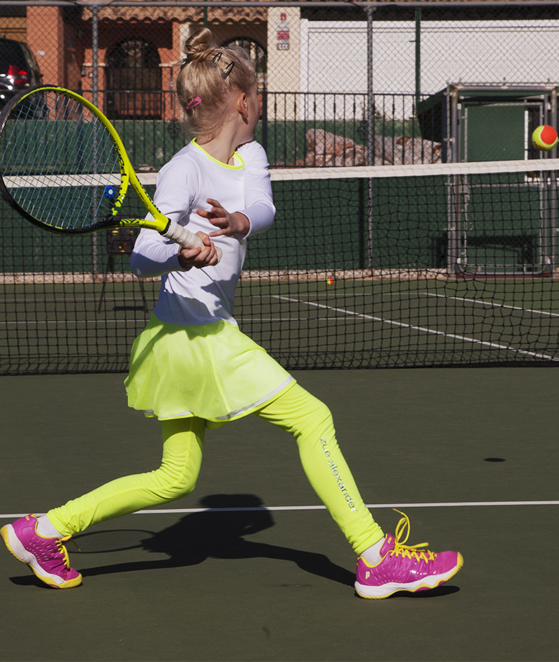 NEON TENNIS LEGGINGS GIRLS ZA