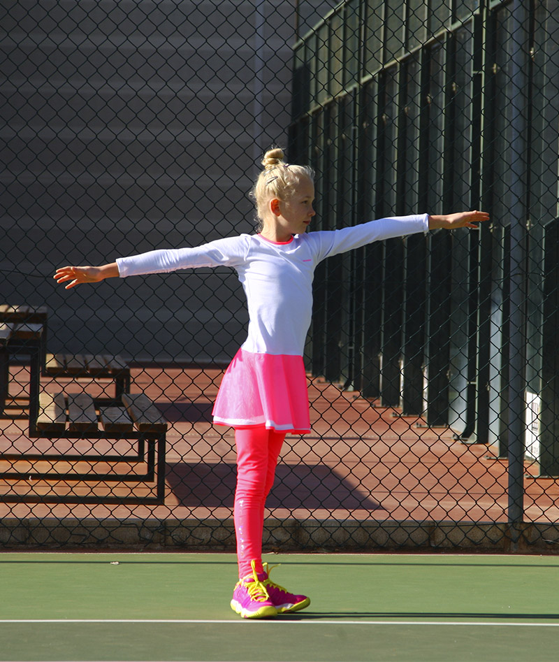 TENNIS CLOTHES NEON WHITE TENNIS DRESSES ZA ZOE ALEXANDER UK