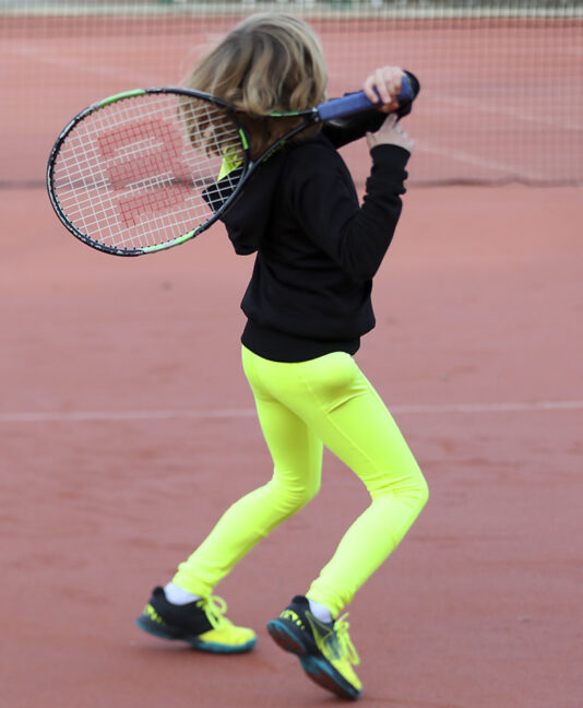 neon performance girls tennis leggings zoe alexander uk