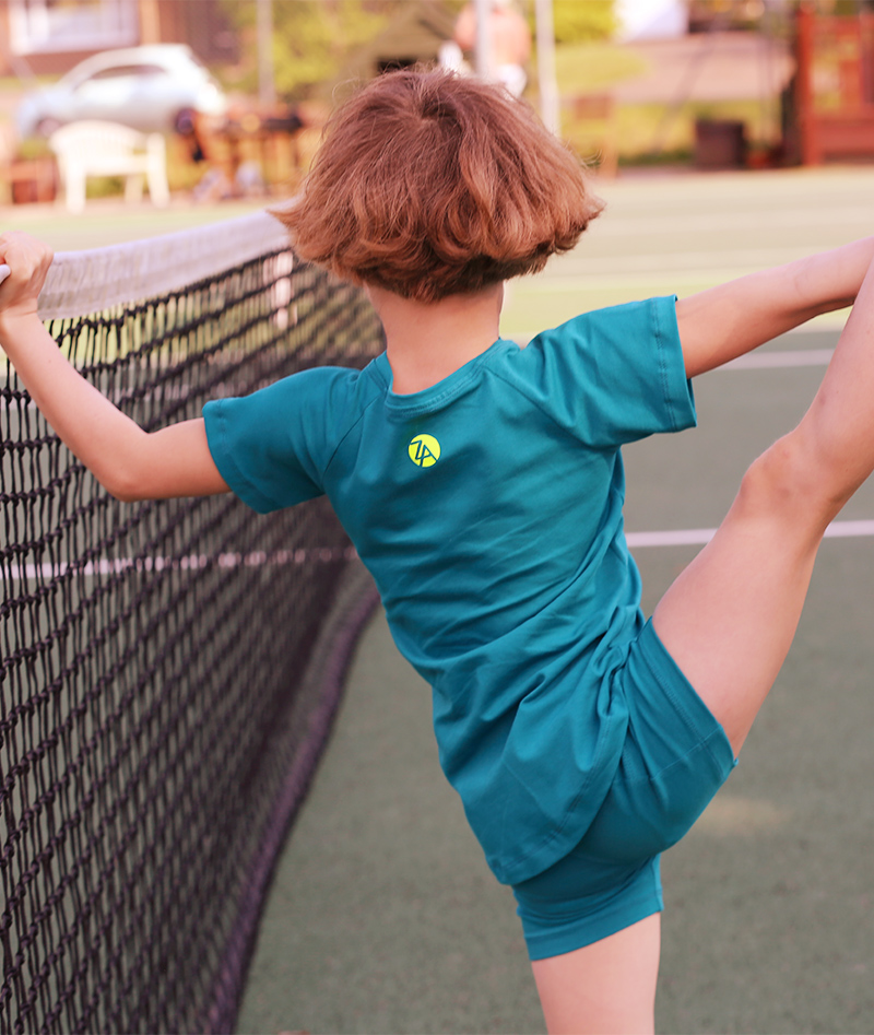 cotton ball pocket tennis shorts for girls zoe alexander