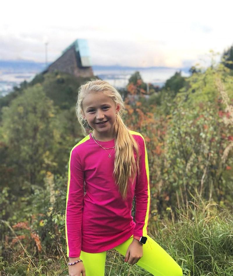 girls tennis top leggings neon Jessica Zoe Alexander uk za