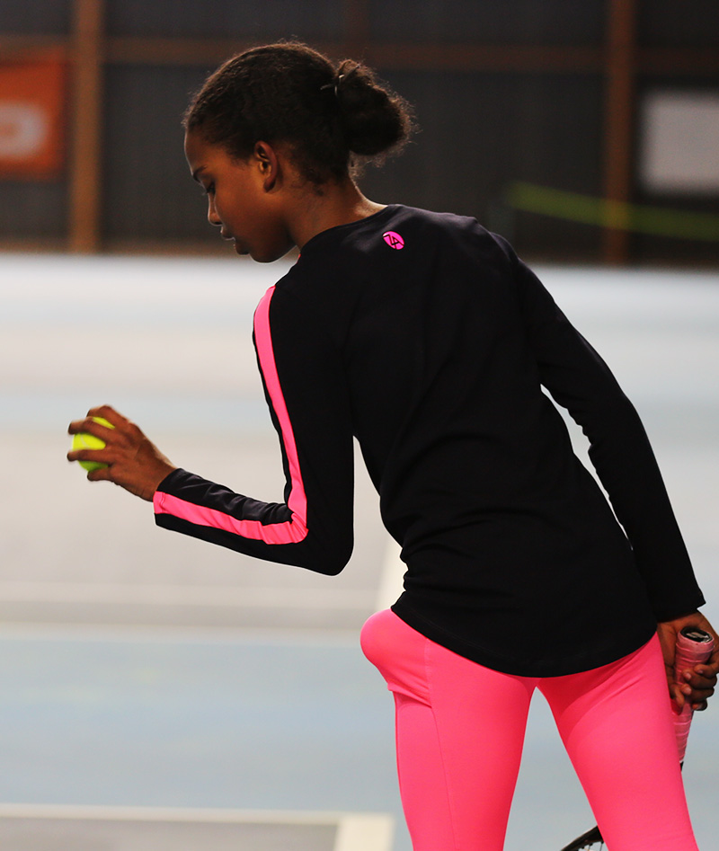 tennis training top maria by zoe alexander
