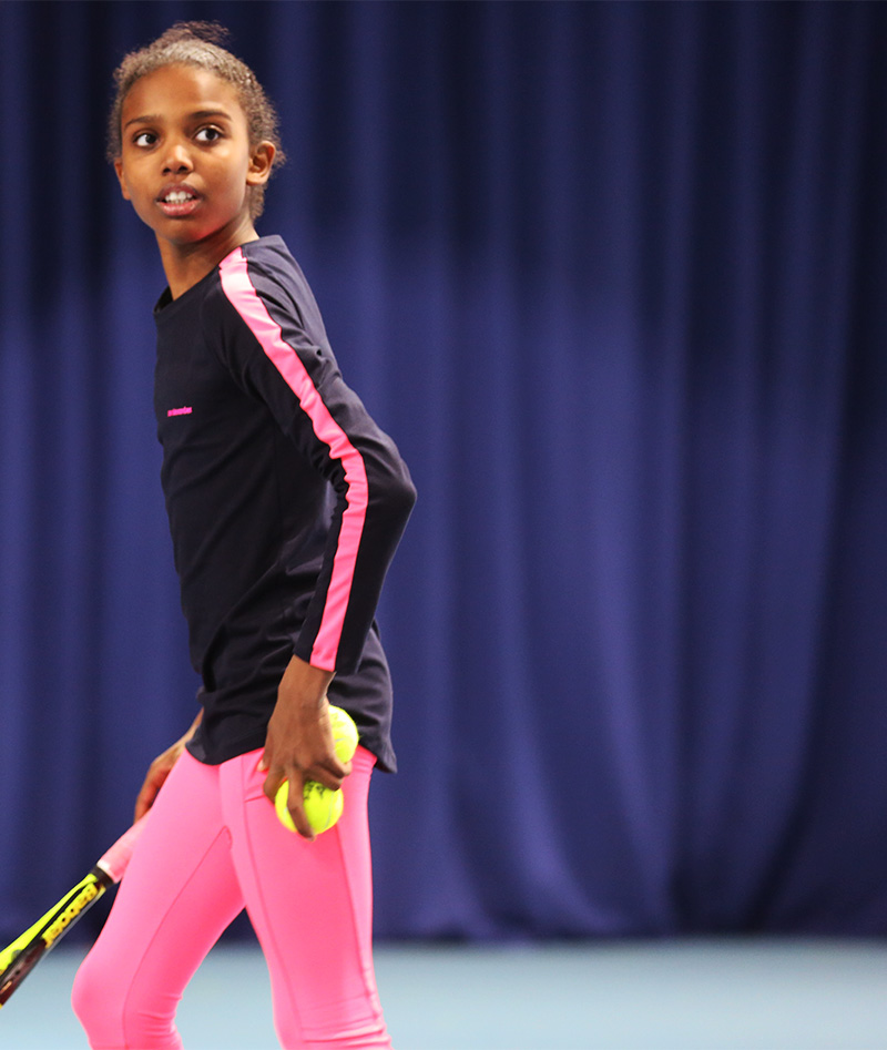 tennis training tops uk by zoe alexander for girls