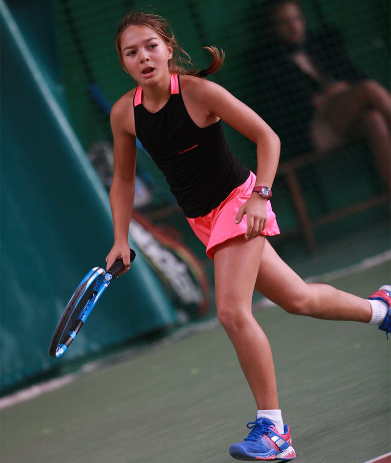 black pink girls tennis dress zoe alexander