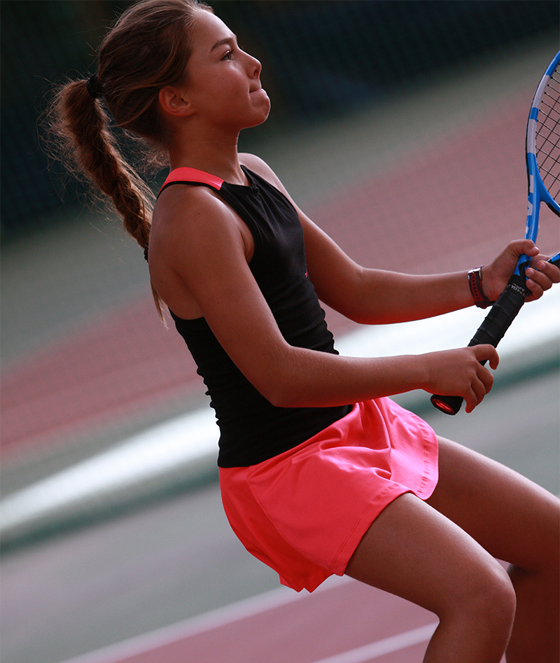 sapir pink black tennis dress girls zoe alexander uk