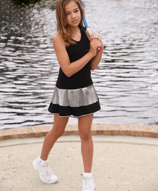 stasia racer back tennis dress zoe alexander