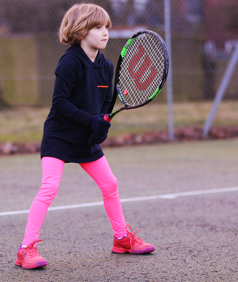 tennis leggings with ball pocket by zoe alexander