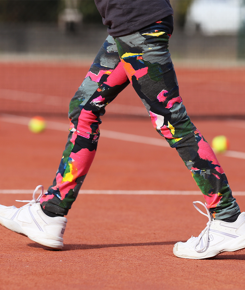 tennis leggings with ball pocket zoe alexander uk