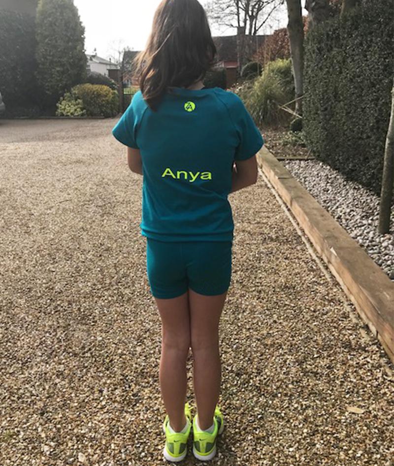 personalised name customise tennis outfits Zoe Alexander uk za