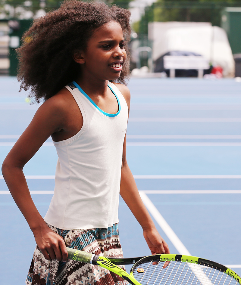girls tennis dress uk aztec print zoe alexander