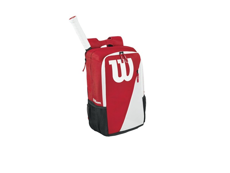 wilson red tennis racket bag