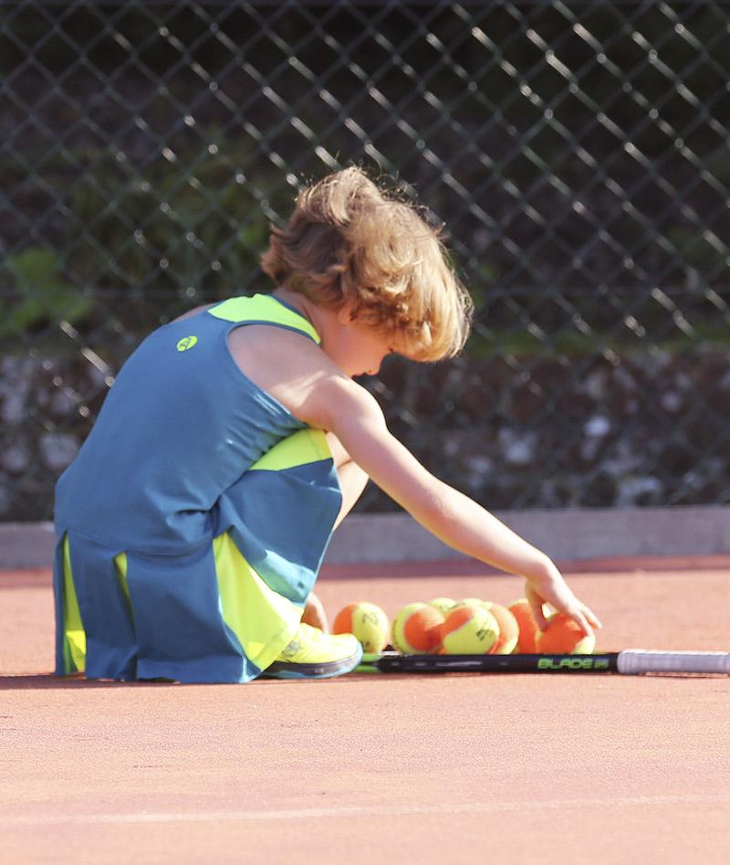 teal racerback tennis dress for girls