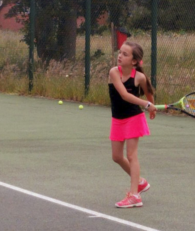 JUNIOR APPAREL TENNIS DRESS ZOE ALEXANDER UK ZA