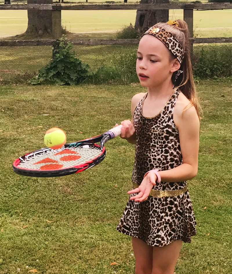 TENNIS DRESS ZA ZOE ALEXANDER UK GIRLS