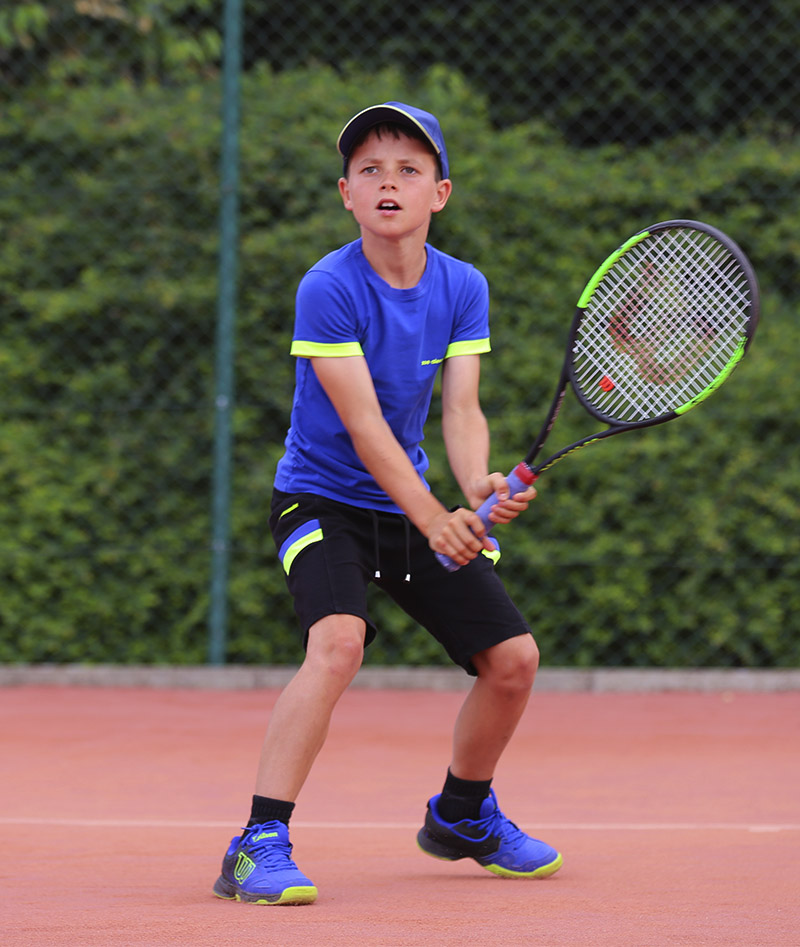 blue black boys tennis outfit zoe alexander uk