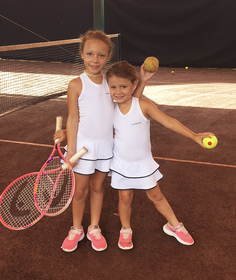 white tennis dress girls za Zoe Alexander UK