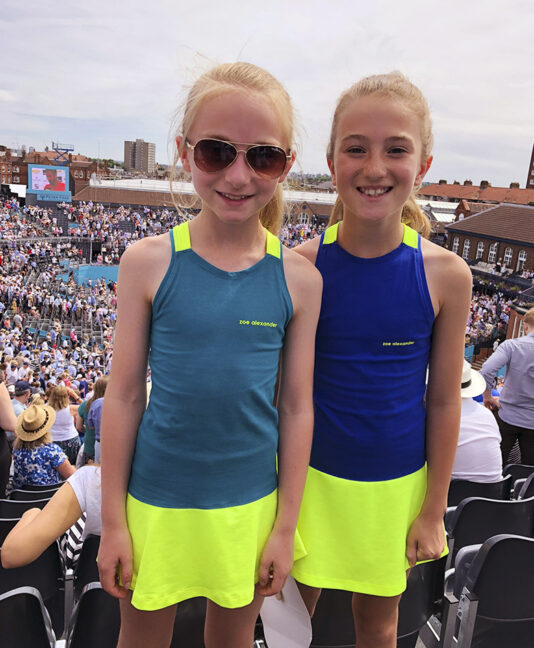 DRESSES FOR GIRLS TENNIS ZA ZOE ALEXANDER UK