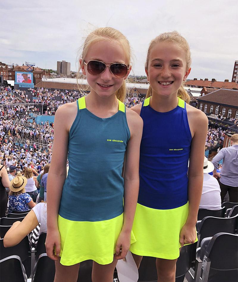 DRESSES FOR GIRLS TENNIS ZA ZOE ALEXANDER UK