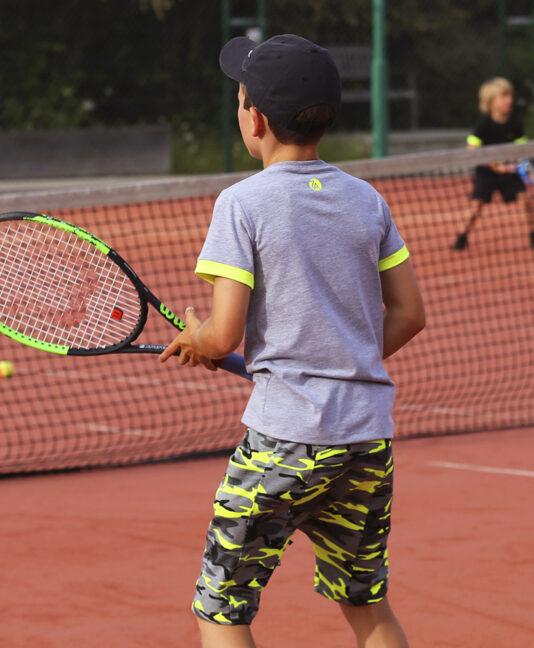camo tennis outfit neon grey zoe alexander
