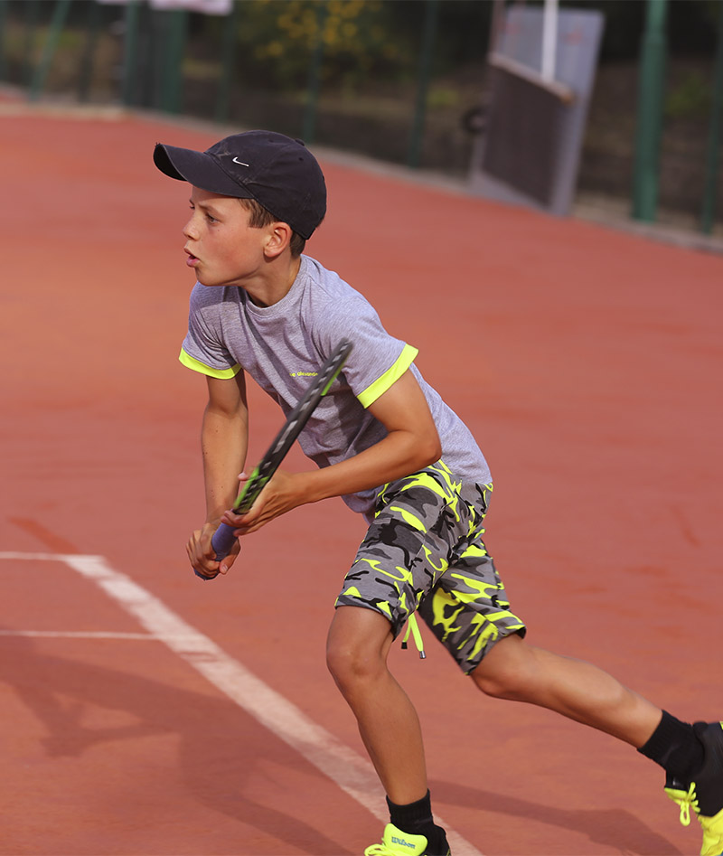 neon yellow camo tennis kit for boys zoe alexander