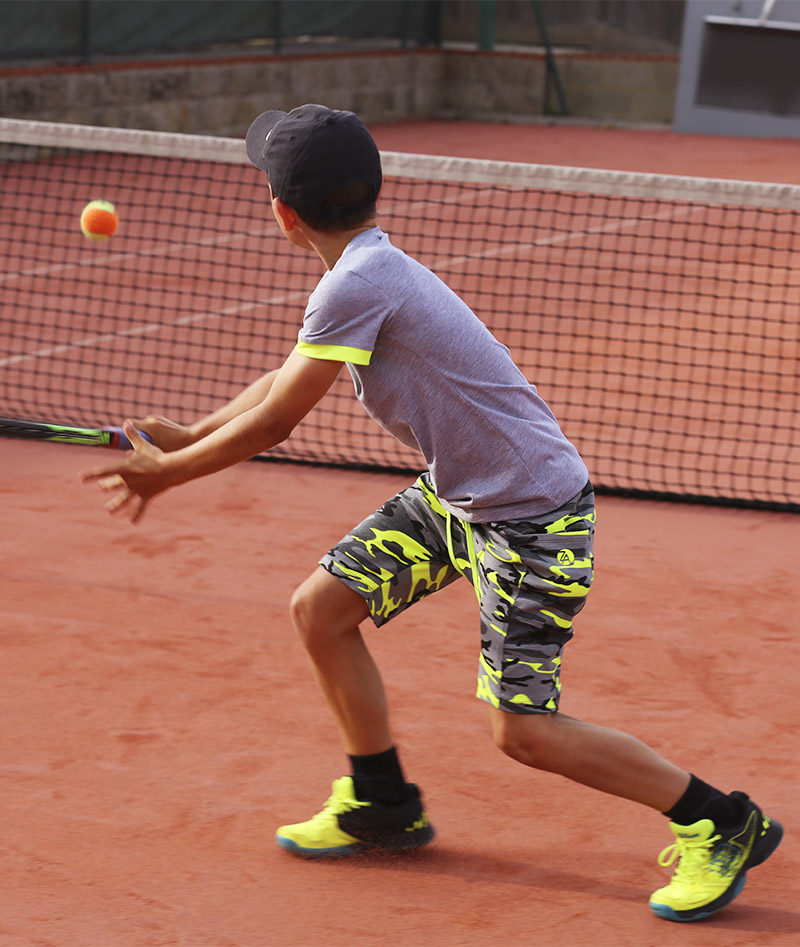 grey yellow camo tennis kit boys zoe alexander