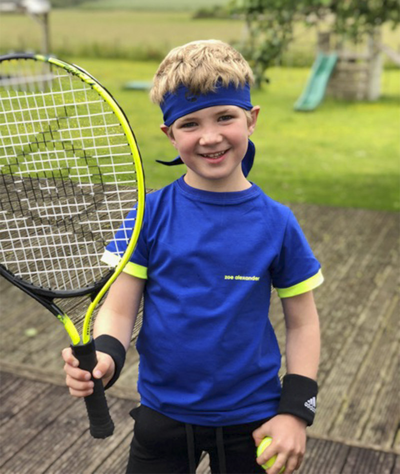 boys tennis headband Zoe Alexander uk za