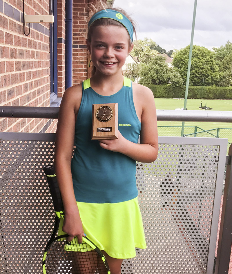 petrol green girls tennis dress verity zoe alexander uk