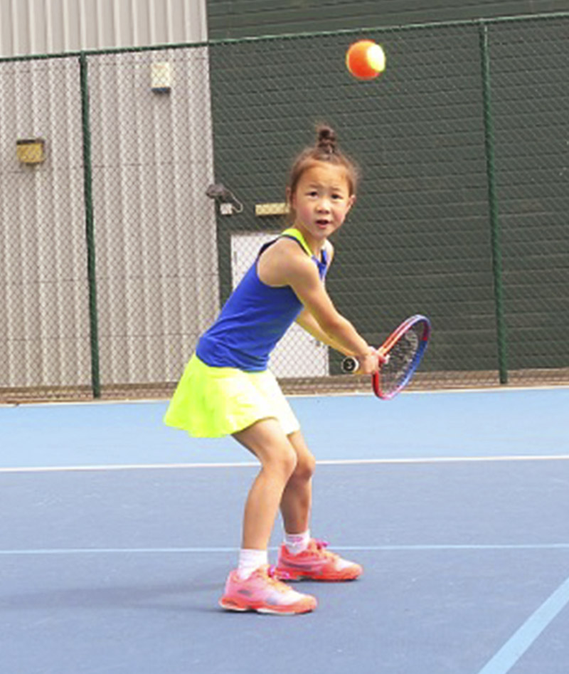 TENNIS DRESSES NEON BLUE ZA ZOE ALEXANDER UK