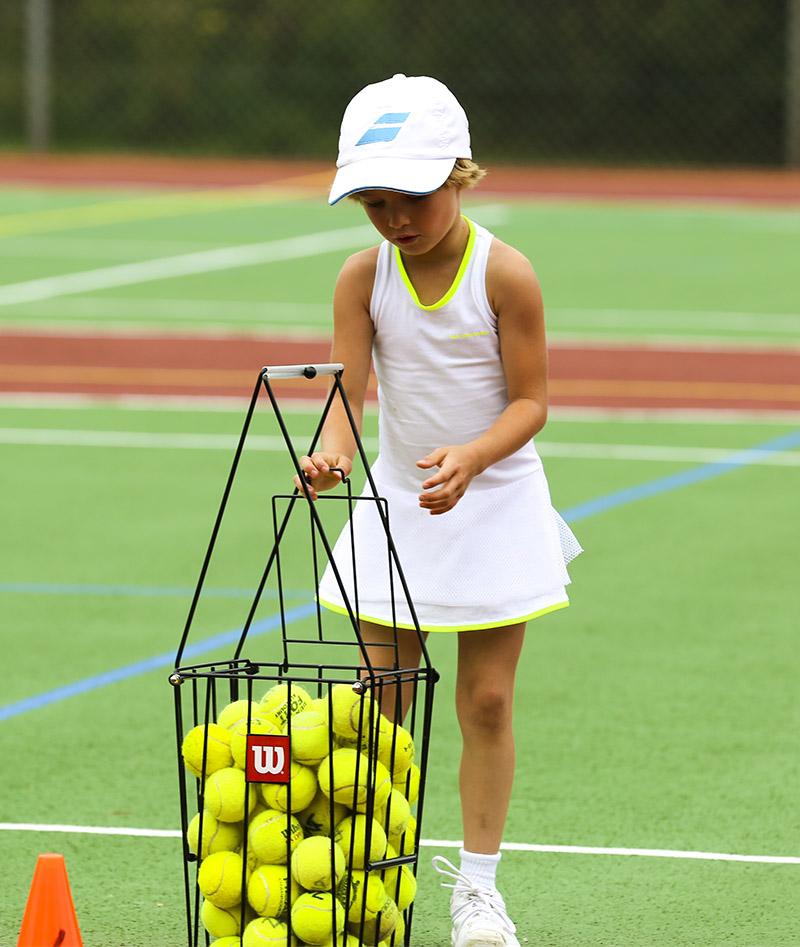 b7c709bfed7795 Girls White Tennis Dress Karolina - Junior Tennis Apparel - Zoe ...