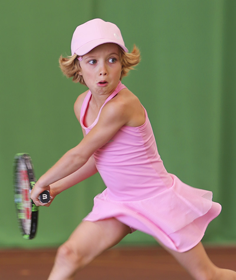 TENNIS DRESS PINK ZOE ALEXANDER UK ZA