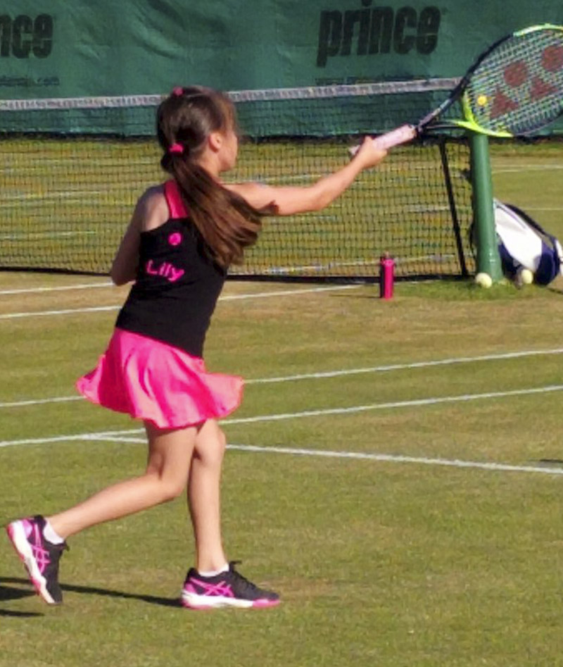 personalised name customise tennis outfits Zoe Alexander uk za girls boys