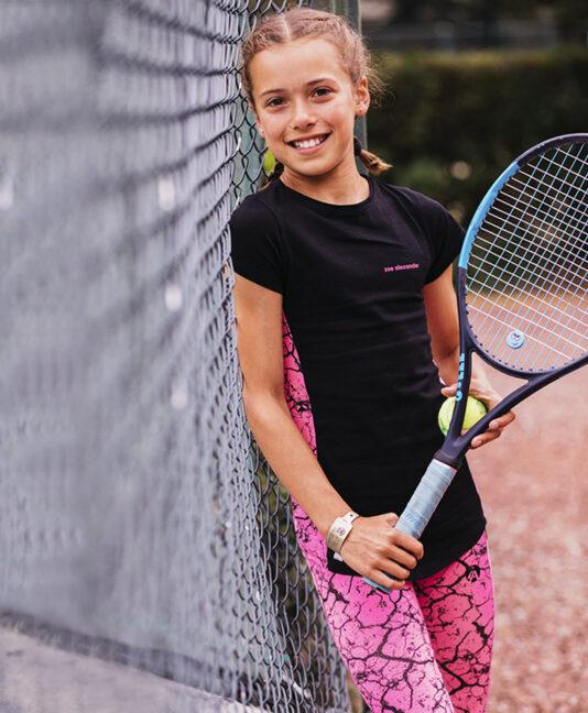 tennis leggings girls ball pocket Zoe Alexander uk za usa
