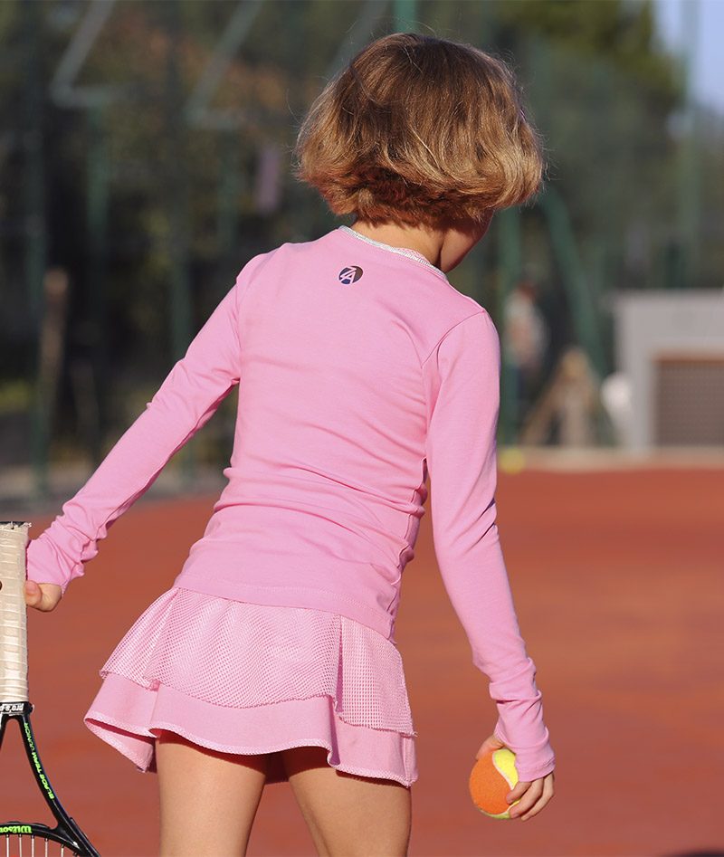 tennis train9ng tops long sleeve for girls zoe alexander uk