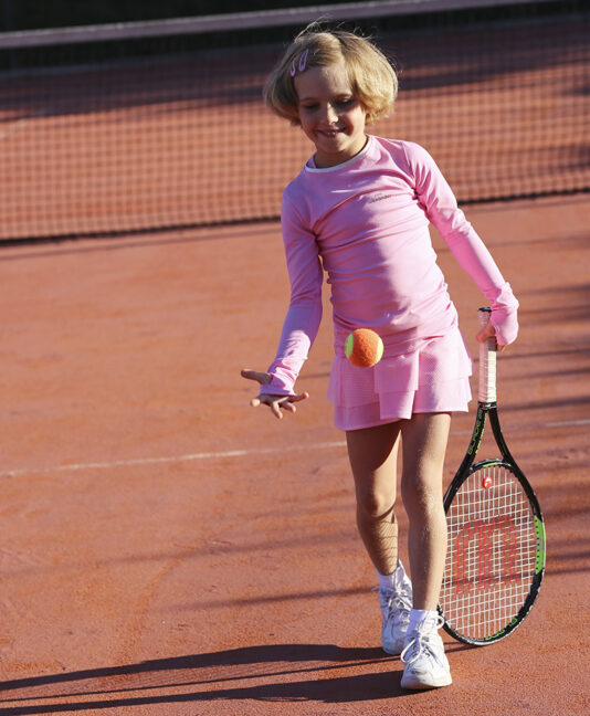 girls tennis training tops cotton zoe alexander uk