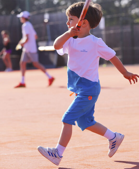 blue white boys tennis outfit zoe alexander uk