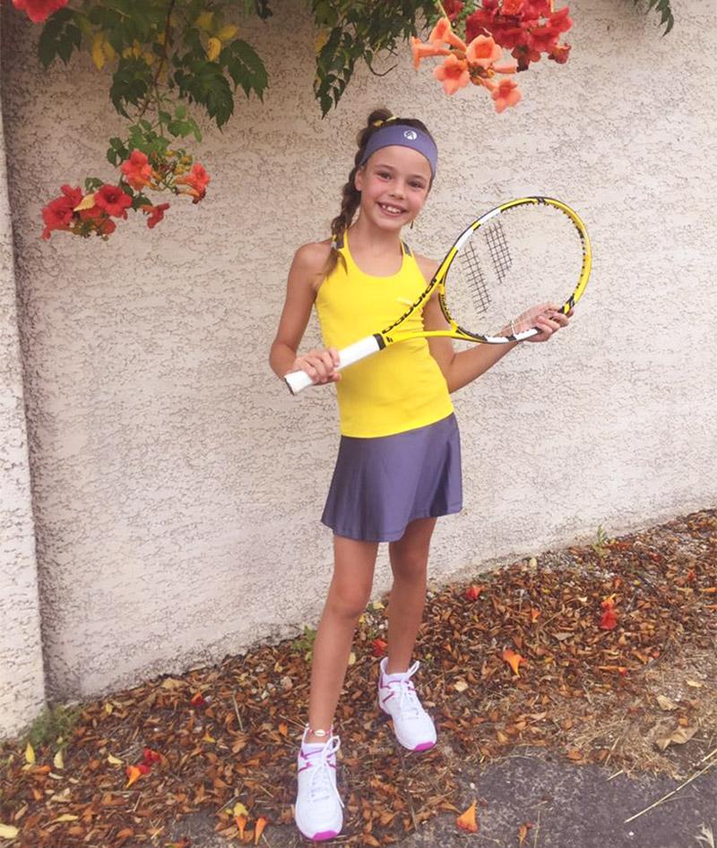 tennis clothes girls Zoe Alexander uk za France