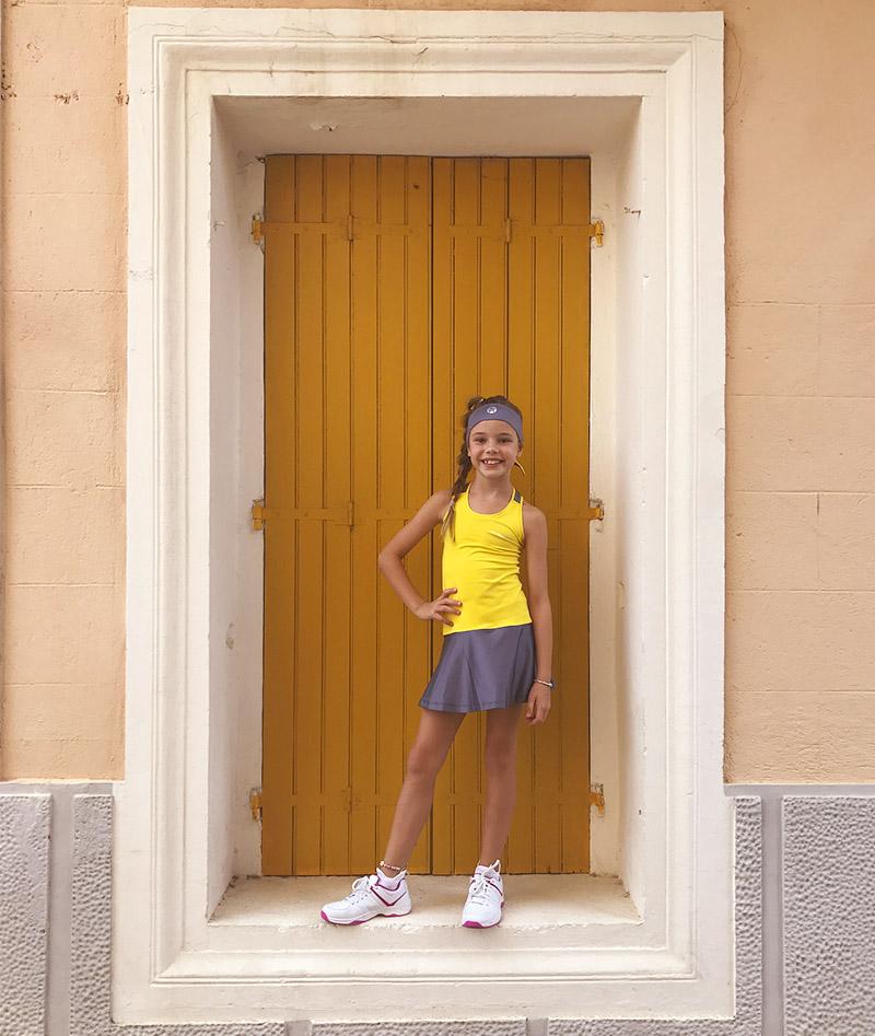tennis dress girls Madison Zoe Alexander uk za usa